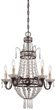 Minka-Lavery 3136-167B - 5 Light Mini Chandelier
