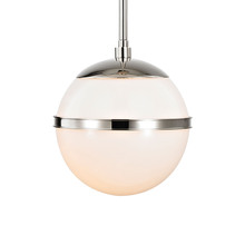 Crystorama 2107-PN - Brian Patrick Flynn for Crystorama Truax 1 Light Polished Nickel Mini Chandelier