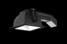"RAB Lighting RDLED6S20F-50YN-W-B - REMODELER 6"" SQUARE 20W 3500K 120- 277V 50 DEGREES WHITE CONE BLACK RING"