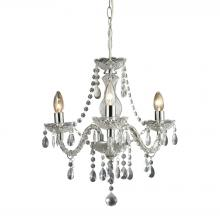 Sterling Industries 144-015 - Theatre 3 Light Mini Chandelier In Clear