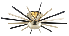 Troy C4254 - ATOMIC 16LT CEILING SEMI FLUSH LARGE