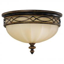 Feiss FM261WAL - 3- Light Indoor Flush Mount